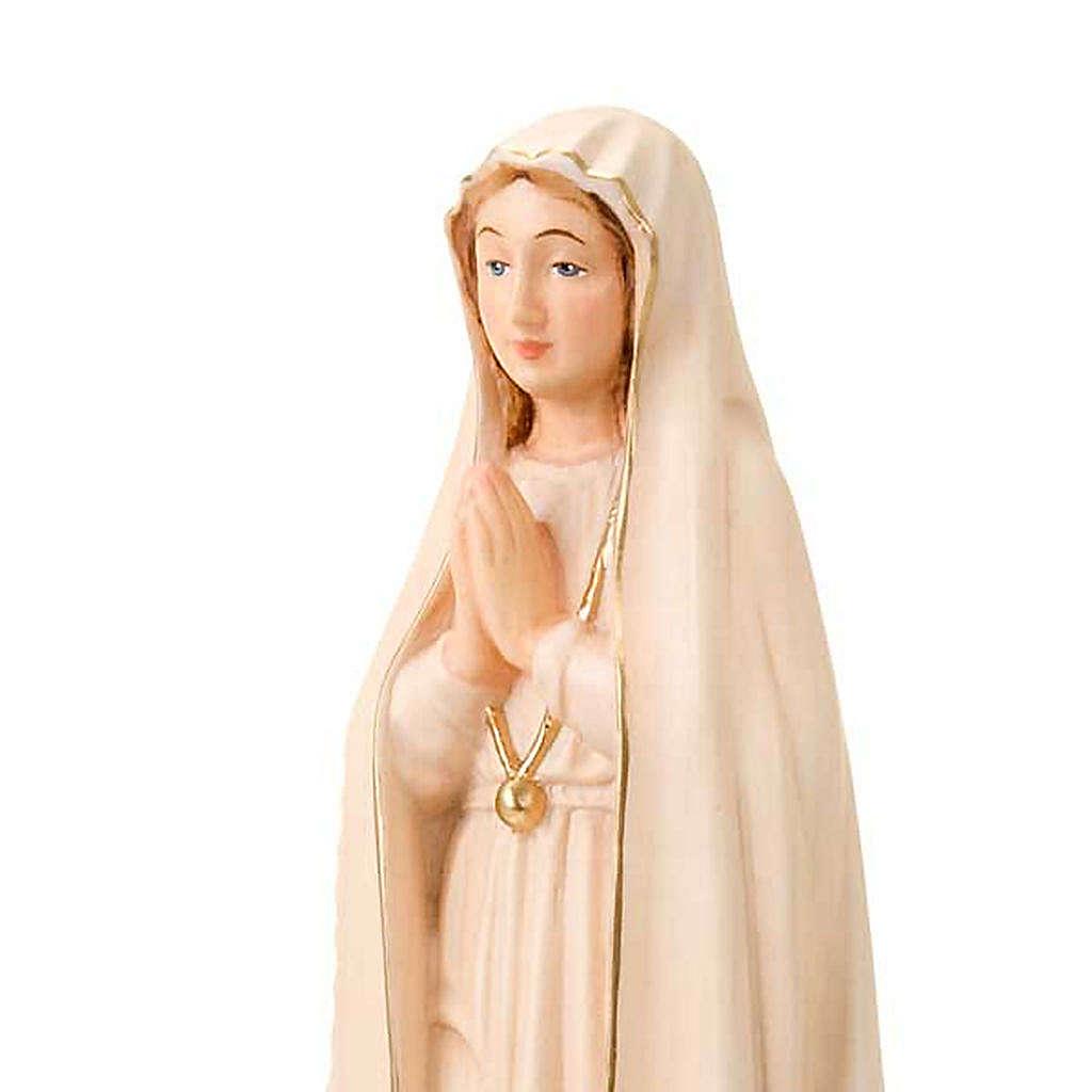Virgen De Fatima 30 cm. 4