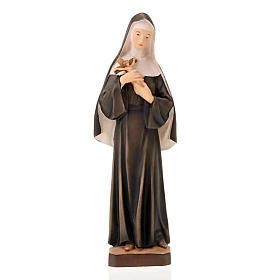 Statues en bois peint: Sainte Rita