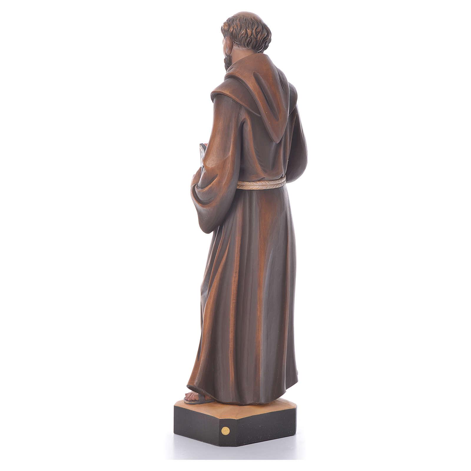 St. François statue bois 4