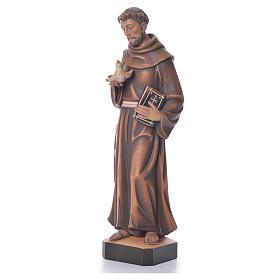 St. François statue bois s2