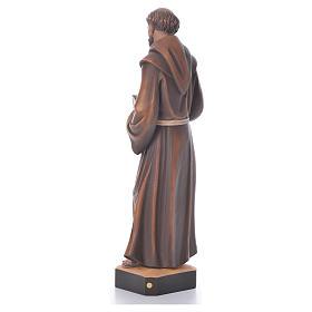 St. François statue bois s3