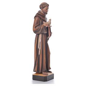 St. François statue bois s4
