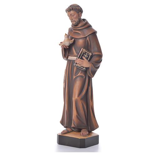 St. François statue bois 2