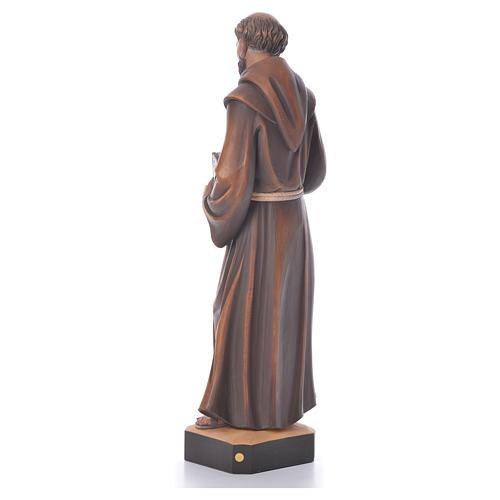 St. François statue bois 3