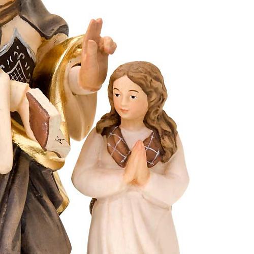 Sainte Anne et la Vierge Marie, statue bois 3