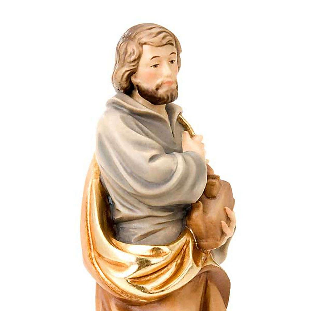 Saint Joseph travailleur, statue bois 4