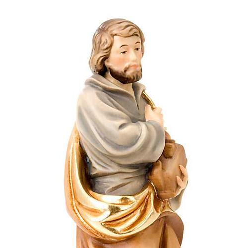Saint Joseph travailleur, statue bois 2