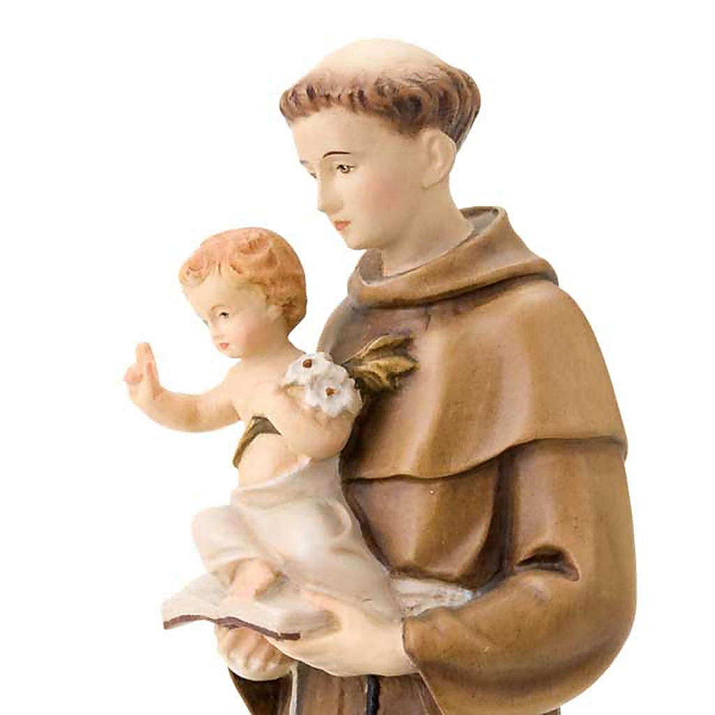 Saint Anthony of Padua with Jesus 30 cm 4