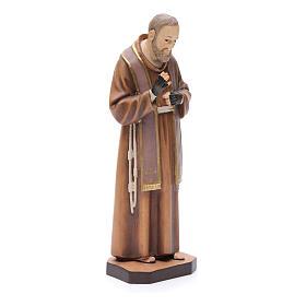 Saint Pio de Pietralcina, statue bois s3