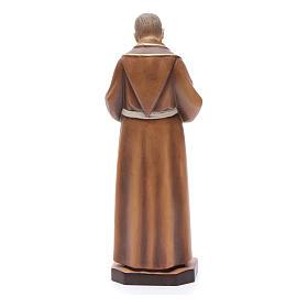 Saint Pio de Pietralcina, statue bois s4