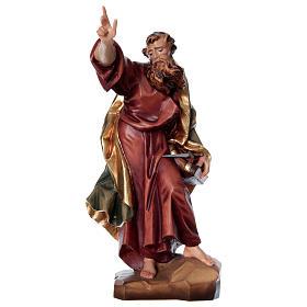 Statues en bois peint: Saint Paul, statue bois