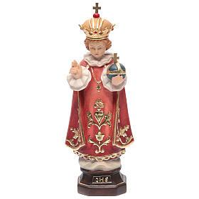 Imágenes de Madera Pintada: Niño Jesús de Praga