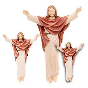 Statues en bois peint: Jésus ressuscité