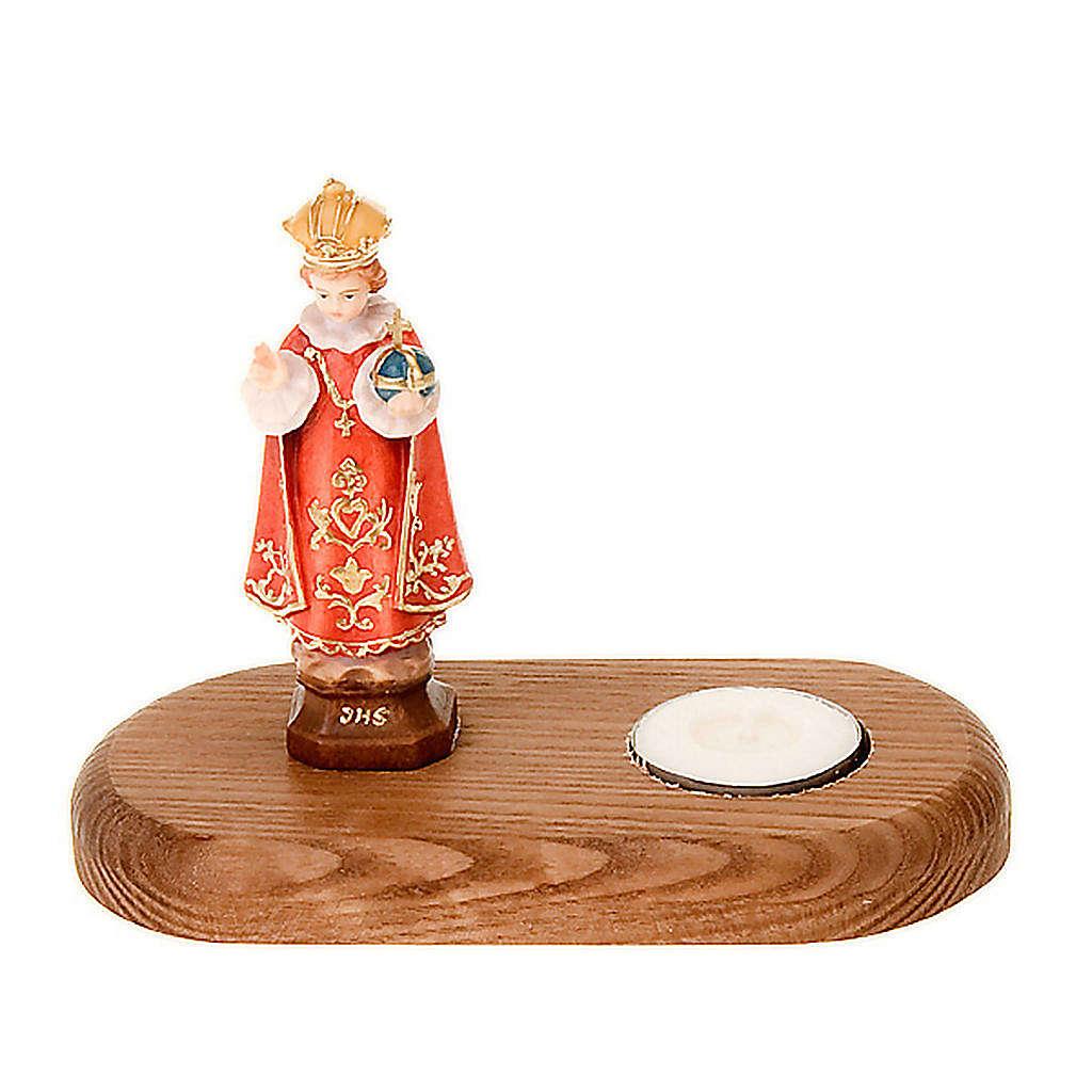 Gesù bambino di Praga su base 3