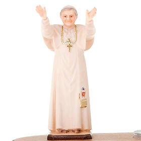Statua Benedetto XVI su base s3
