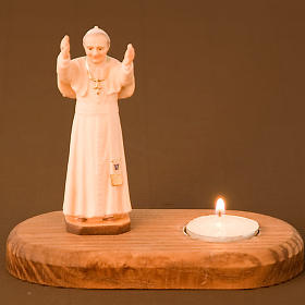 John Paul II on wooden base s2