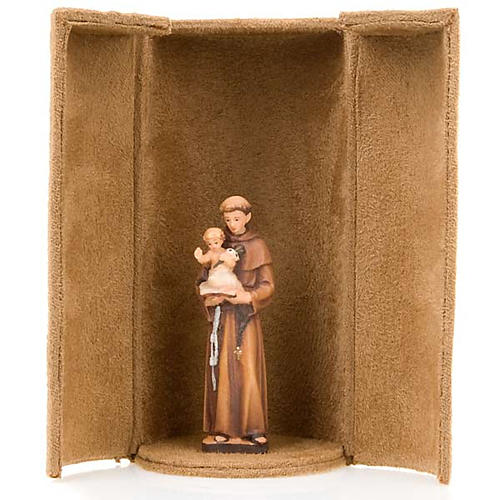 Statua bijoux Gesù e Santi con scatola nicchia 2