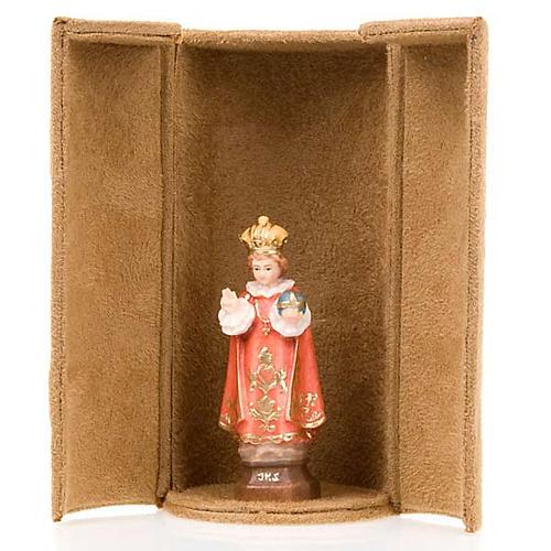 Statua bijoux Gesù e Santi con scatola nicchia 4