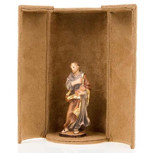 Statua bijoux Gesù e Santi con scatola nicchia 5