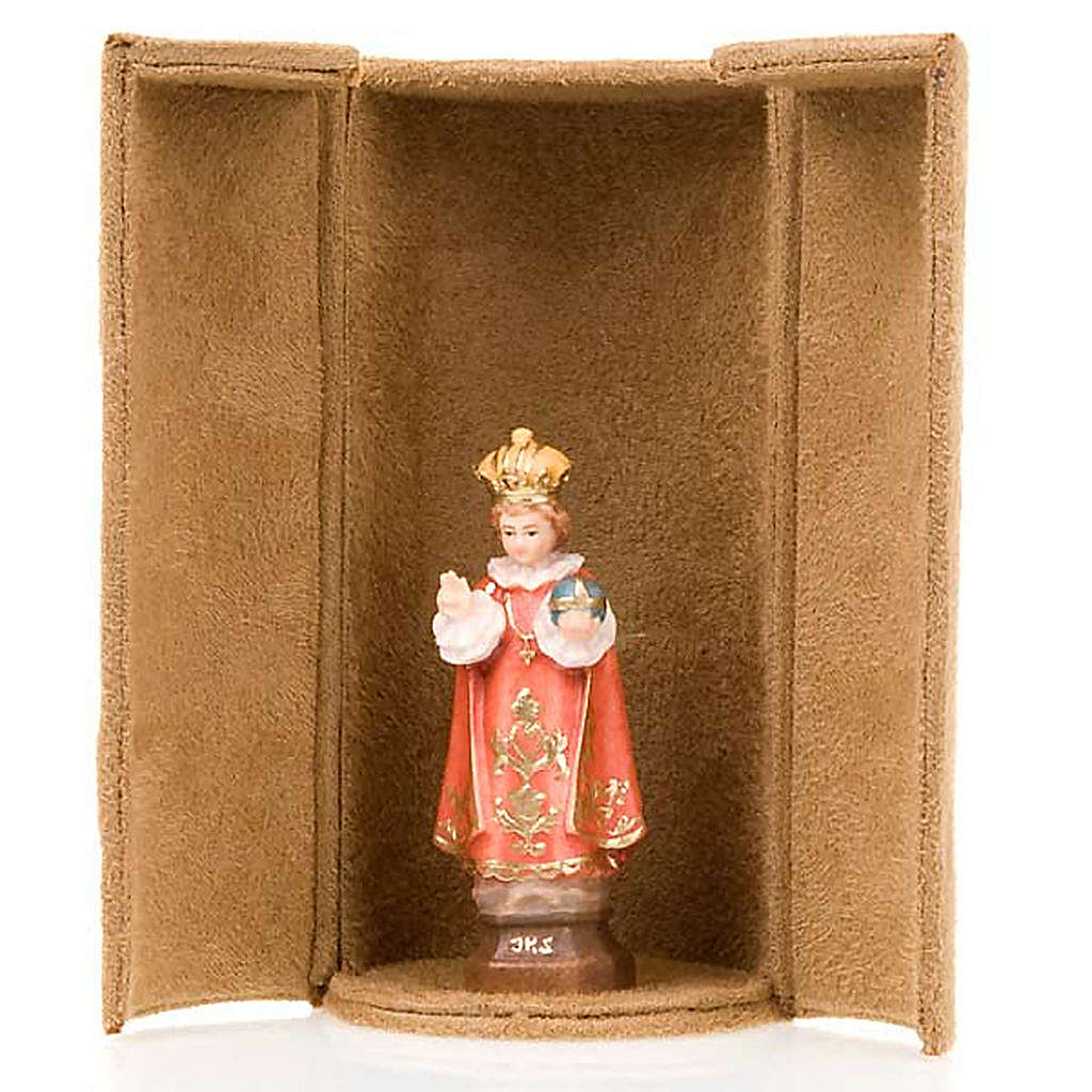 Jesus and saints bijoux statue with niche 4