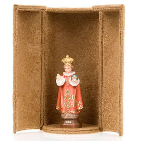 Jesus and saints bijoux statue with niche s4
