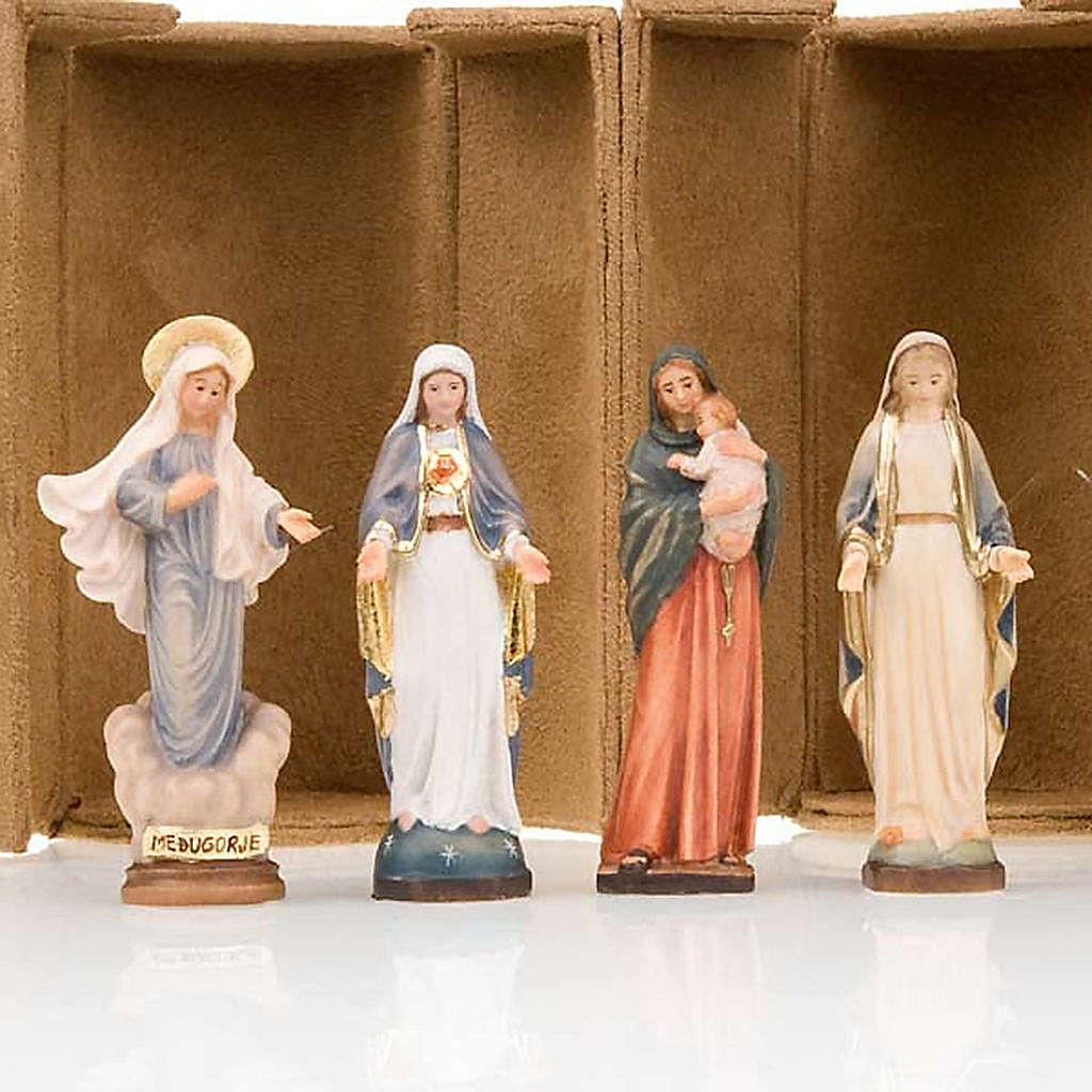 Statua bijoux Maria con scatola nicchia 4
