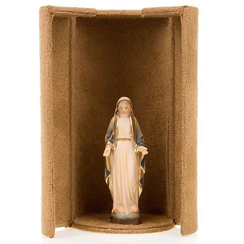 Statua bijoux Maria con scatola nicchia 5