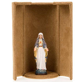 Mother Mary bijoux statue with niche s3