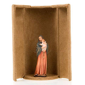 Mother Mary bijoux statue with niche s4