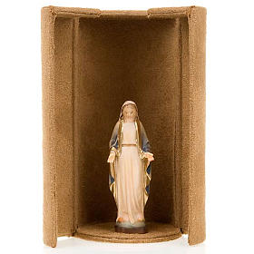 Mother Mary bijoux statue with niche s5
