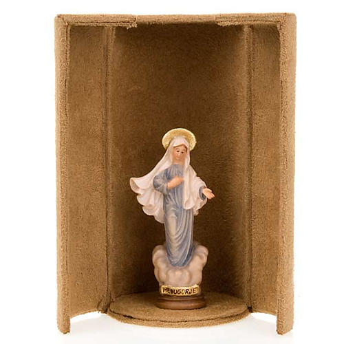 Mother Mary bijoux statue with niche 2