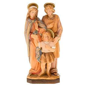 Imágenes de Madera Pintada: Estatua Sagrada Familia Nazaret