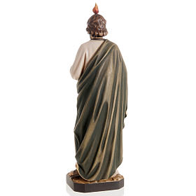 St Jude Thaddeus wooden statue painted s4
