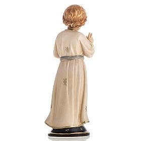 Adolescent Jesus wooden statue painted s4