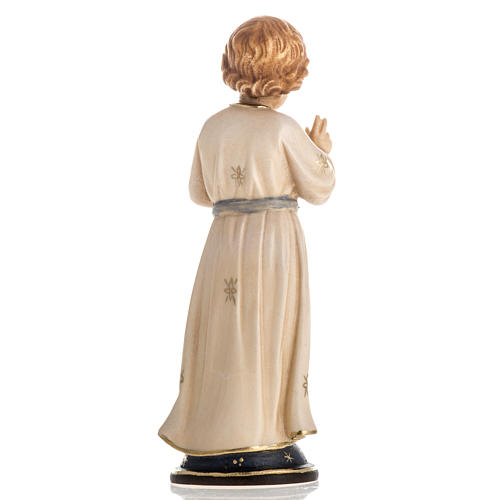 Adolescent Jesus wooden statue painted 4