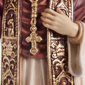 Benedict XVI wooden statue painted s4