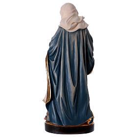 Sainte Anne et Marie statue peinte bois Val Gardena s5