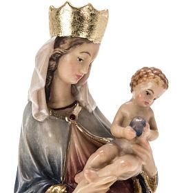 Grödnertal Holzschnitzerei Madonna von Krumauer s10