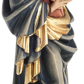 Grödnertal Holzschnitzerei Madonna von Krumauer s11