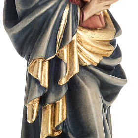 Our Lady of Krumauer wooden statue painted s11