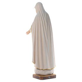 Our Lady of Fatima wooden statue painted s4