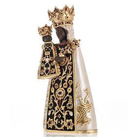 Virgin of Altotting wooden statue painted s4