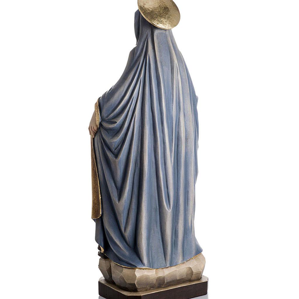 Grödnertal Holzschnitzerei Madonna der Schützung 4