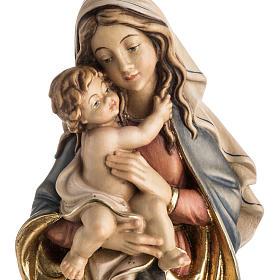 Matka Boża Królowa Pokoju figurka drewno malowane s2