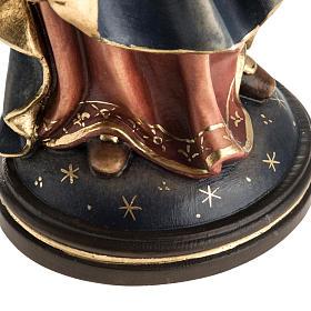 Matka Boża Królowa Pokoju figurka drewno malowane s5