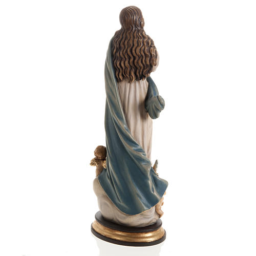 Immaculate Conception by Murillo wooden statue painted 13