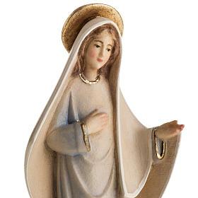 Estatua Nuestra Señora de Medjugorje  madera pintada mod. s2