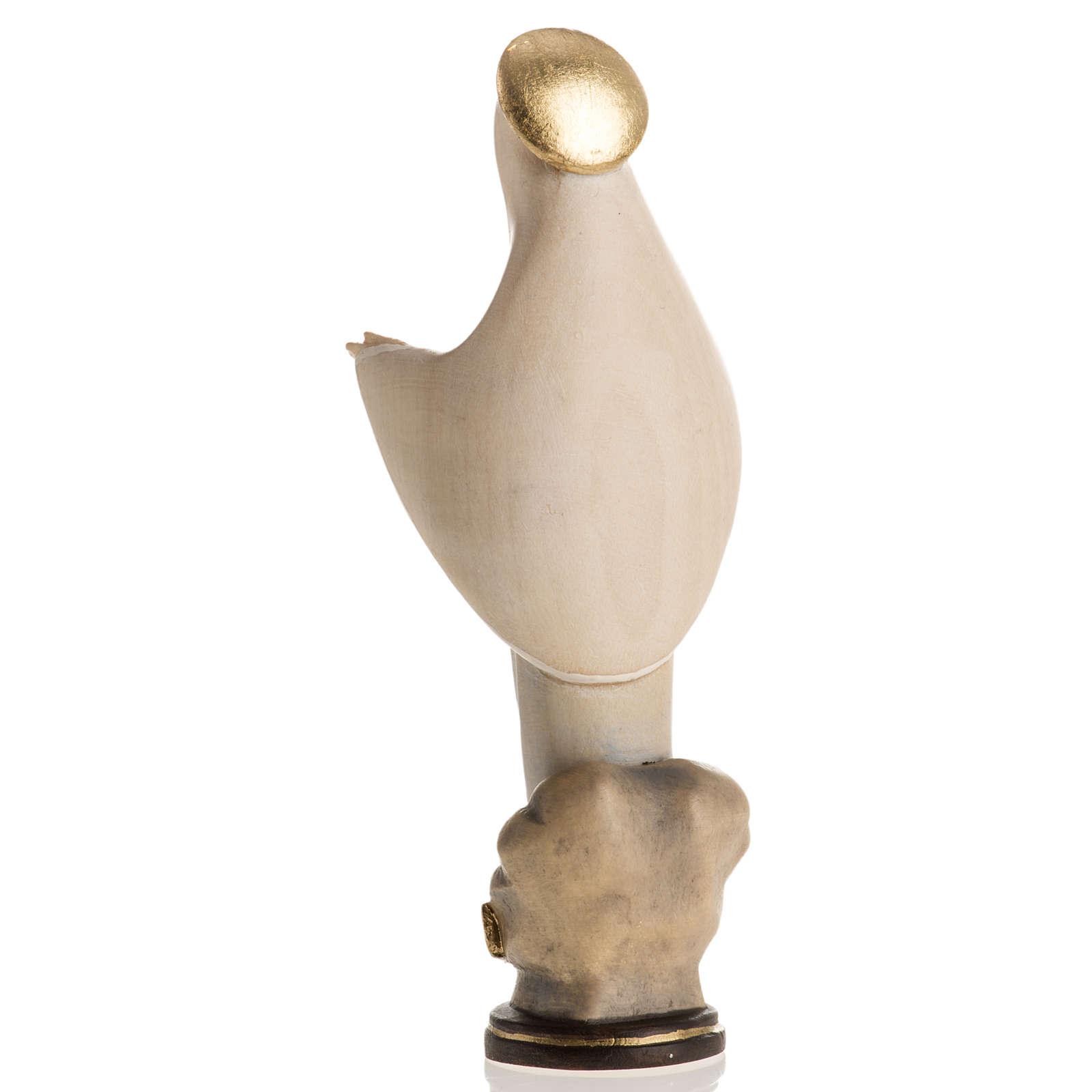 Statua Madonna di Medjugorje legno dipinto mod. Linea 4