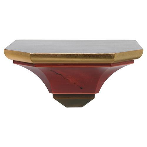 Półka ścienna pod figurę drewno styl antyczny 1