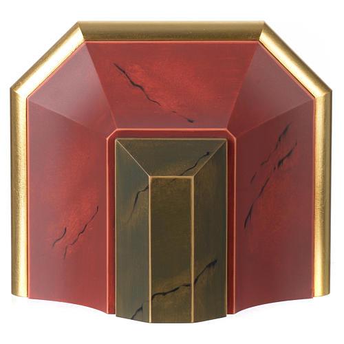 Półka ścienna pod figurę drewno styl antyczny 2